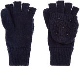 Monsoon Sparkle Pearl Capped Gloves