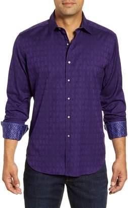 Robert Graham Atlas Regular Fit Button-Up Sport Shirt