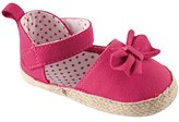 Luvable Friends Girl's Bow Espadrille Sandal