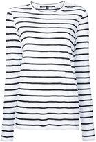 Proenza Schouler relaxed striped top - women - Cotton - XS