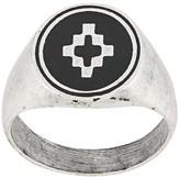 Marcelo Burlon County Of Milan cross logo slip-on ring