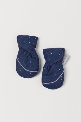 H&M Water-repellent ski mittens