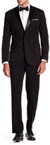 Kenneth Cole New York Solid Woven Two Button Notch Lapel Slim Fit Suit