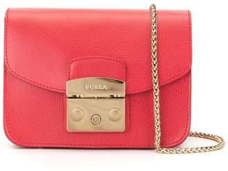 Furla push lock handbag