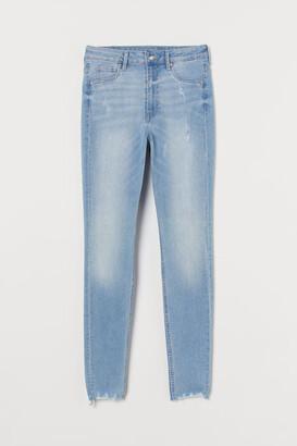 H&M Curvy High Waist Jeggings - Blue