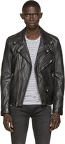 BLK DNM Black Leather 91 Biker Jacket