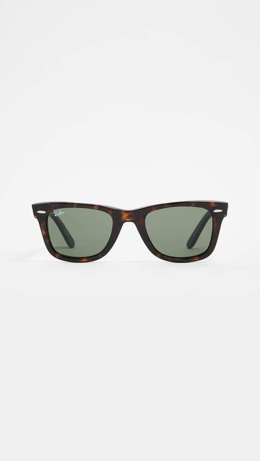 f13fdfa406cce Tortoise Sunglasses Wayfarers - ShopStyle