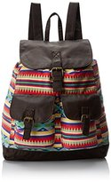 T-Shirt & Jeans Aztec Printed Backpack