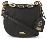 Karl Lagerfeld Women's K/Grainy Satchel Bag Black