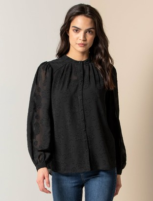 Ever New Brielle Button-Front Blouse