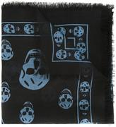 Alexander McQueen 'Skull' scarf - women - Silk/Modal - One Size