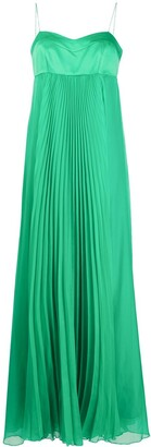 Pinko Pleated Maxi Dress