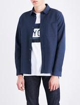 A.P.C. Trek cotton and linen-blend shirt