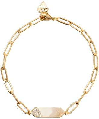 Wanderlust + Co Universe Gold Bracelet