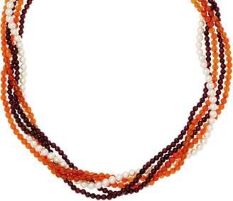 Grace Kelly Collection Torsade Earthtone Necklace
