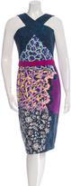 Peter Pilotto Sleeveless Patterned Dress w/ Tags
