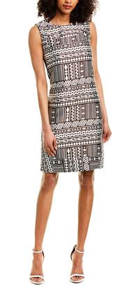 Piazza Sempione Silk-Blend Shift Dress