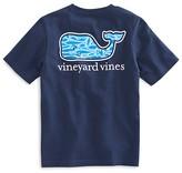 Vineyard Vines Boys' Marlin-Print Whale Tee - Big Kid