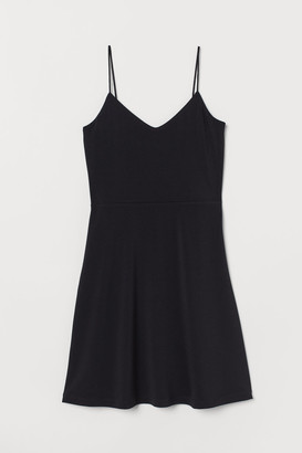 H&M Flared jersey dress