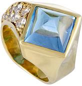Heritage 18K 7.62 Ct. Tw. Diamond & Topaz Ring