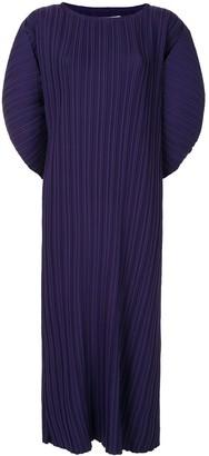 Bambah Pleated Batwing Sleeve Dress