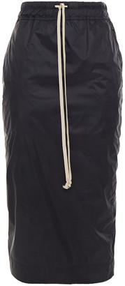 Rick Owens Shell Midi Pencil Skirt