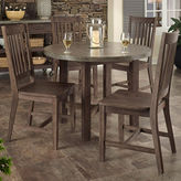 JCPenney Home Styles Concrete Chic 5-pc. Wood Outdoor Dining Set