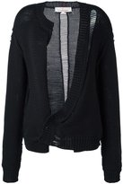 A.F.Vandevorst 'Turner' cardigan - women - Cotton/Polyamide - 36