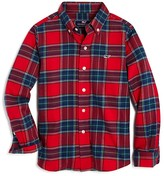 Vineyard Vines Boys' Flannel Tartan Shirt - Sizes S-XL
