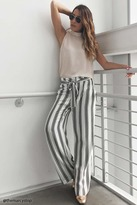 LOVE21 LOVE 21 Contemporary Striped Pants
