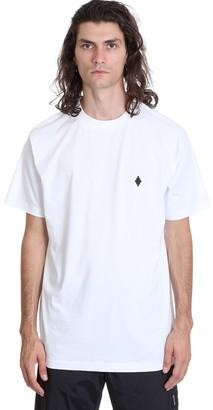 Marcelo Burlon County of Milan Cross Basic T-shirt In White Cotton
