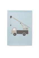 Country Road A3 Poster - Truck