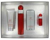 Perry Ellis 360 Red by Gift Set - 3.4 oz Eau De Toilette Spray + 3 oz After Shave Balm + 3 oz Shower Gel +.25 oz Eau De Toilette Spray (Men)