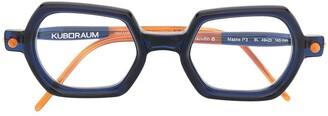 Kuboraum Geometric-Frame Glasses