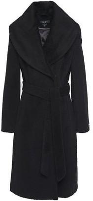 DKNY Brushed Wool-blend Coat