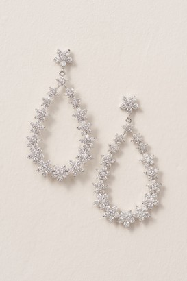Nina Crystal Bouquet Chandelier Earrings