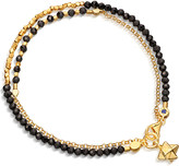 Astley Clarke Biography Fire Element double row spinel and 18ct gold-plated bracelet