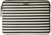 Kate Spade 13 Inch Stripe Laptop Sleeve Case