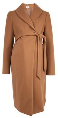Dorothy Perkins Womens Dp Maternity Camel Coat