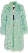 Emilio Pucci Long Pastel Fur Coat