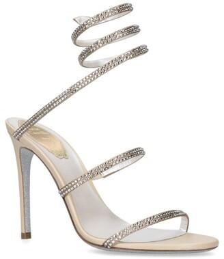 Rene Caovilla Jewel Seraphanite Sandals 105