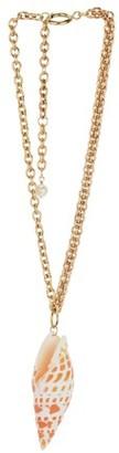 Marine Serre Sea Shell necklace
