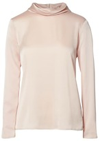Banana Republic Long-Sleeve Mock-Neck Top