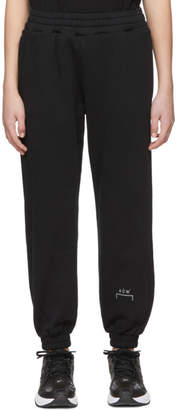 A-Cold-Wall* A Cold Wall* Black Tracksuit Lounge Pants