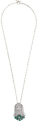 Sonia Rykiel Pre-Owned 2000 Crystal Pendant Necklace