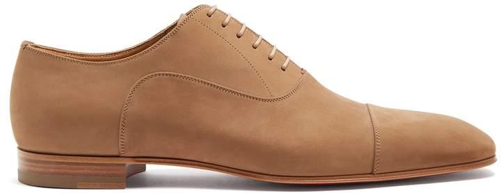 Christian Louboutin Greggo suede oxford shoes