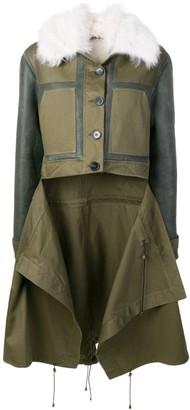 Monse x Pologeorgis patchwork coat
