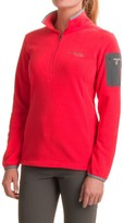 Columbia Titan Pass 1.0 Polartec® Fleece Shirt - Zip Neck, Long Sleeve (For Women)