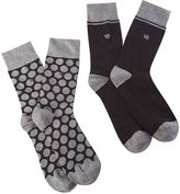 White Stuff Single Spot 2 Pack Socks