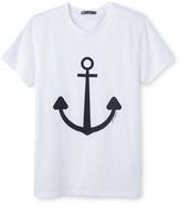 Petit Bateau Mens jersey T-shirt with motif